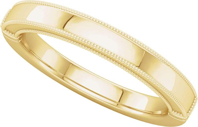 14 Karat Yellow Gold Band