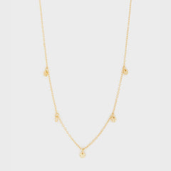 5 Disc Choker, Gold