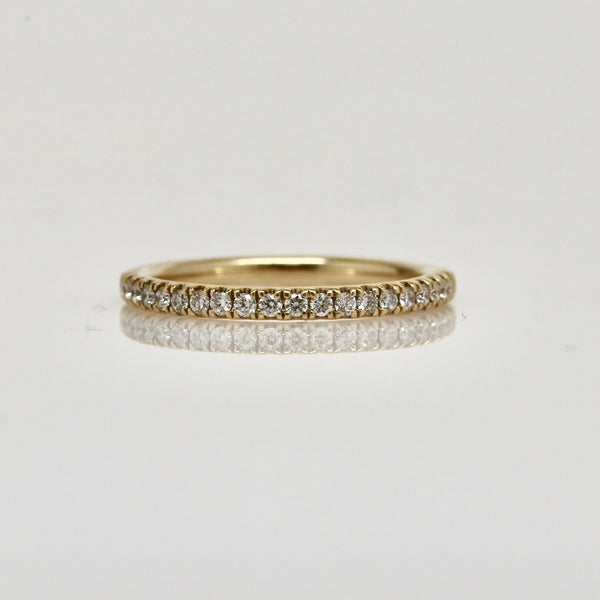 14 Karat Diamond Wedding Band