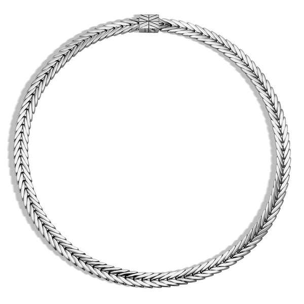 John Hardy Modern Chain Silver 8mm Necklace