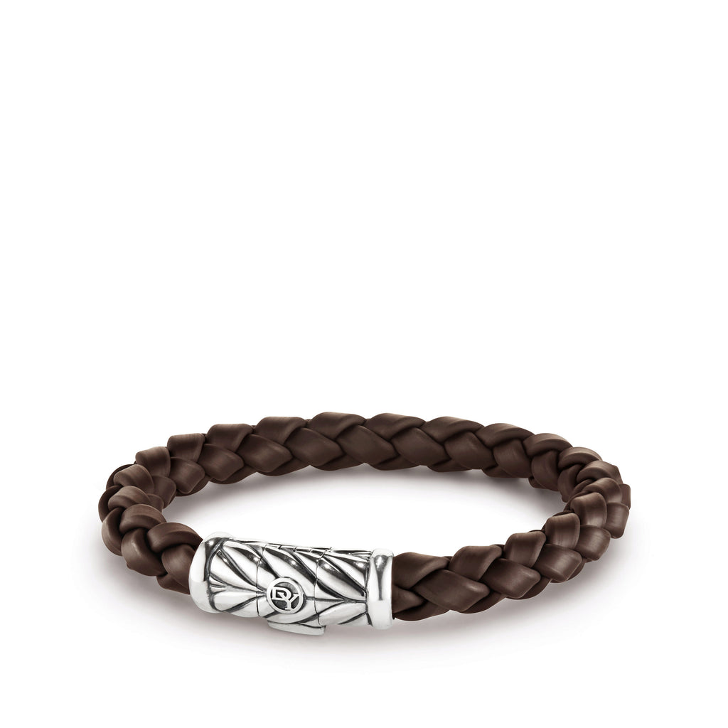 Chevron Bracelet in Brown