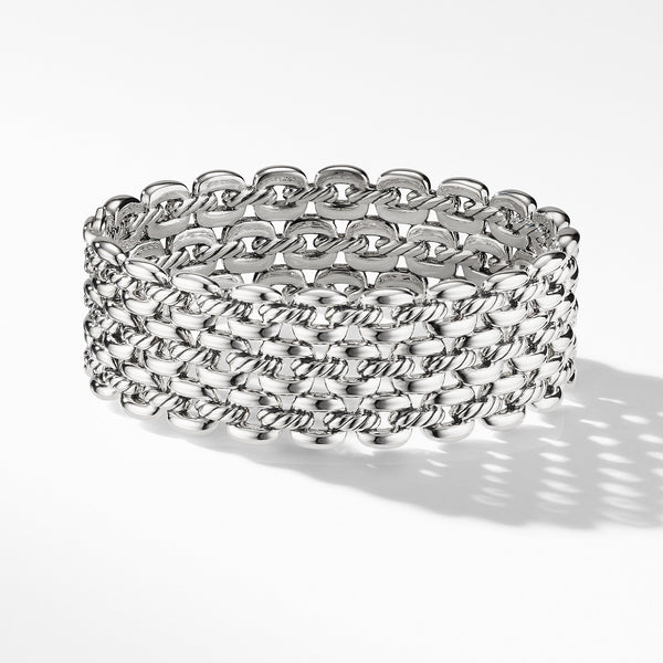 The Thoroughbred Collection Three-Row Cuff Bracelet
