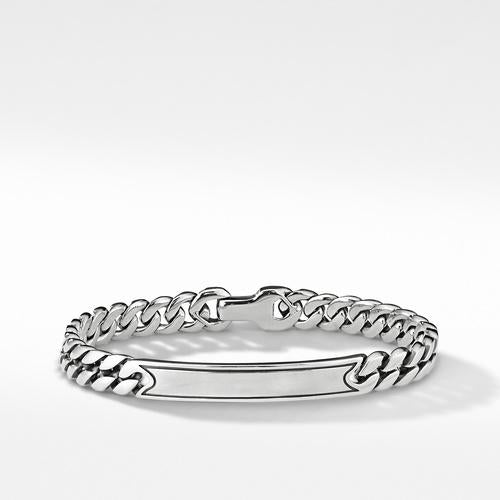 The Chain Collection Micro Curb Chain ID Bracelet