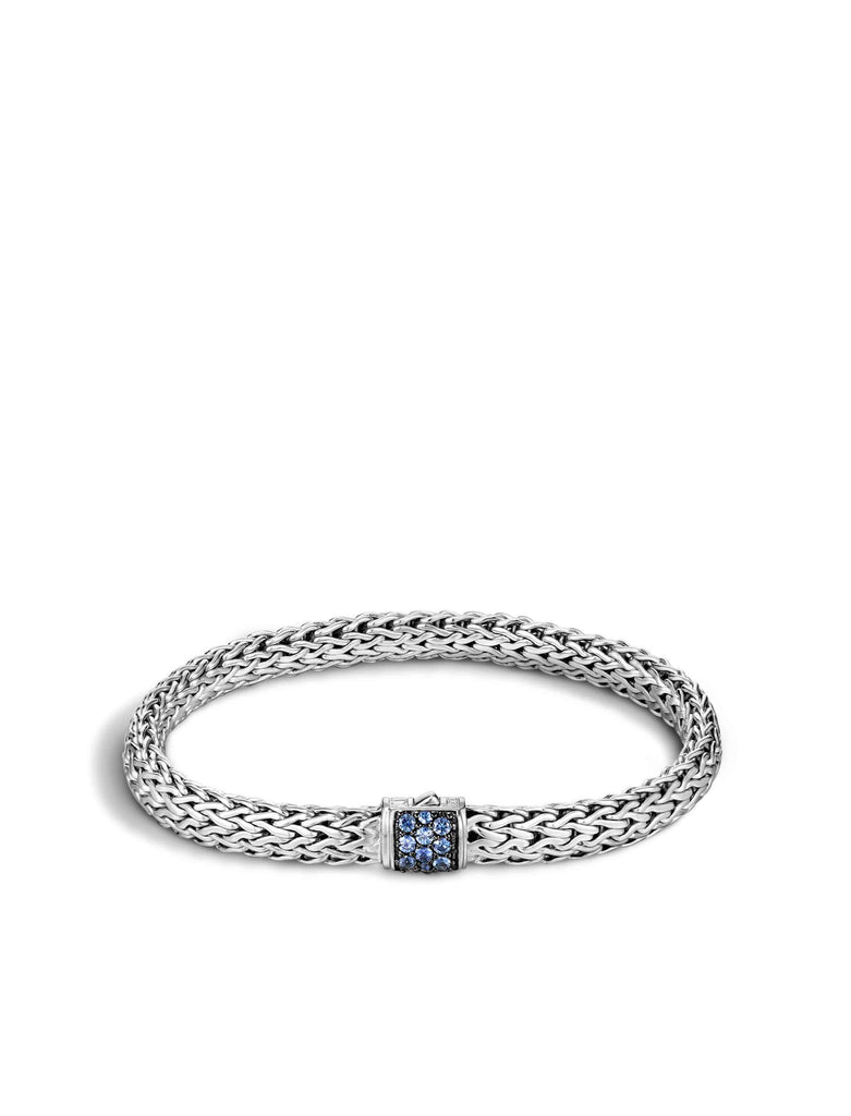 John Hardy Classic Chain Bracelet With Blue Sapphire