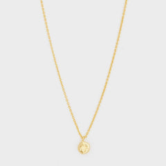 Chloe Charm Adjustable Necklace, Gold