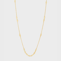 Chloe Mini Choker, Gold