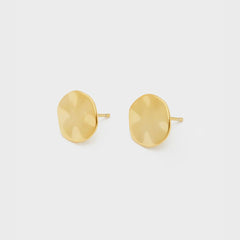 Chloe Small Studs, Gold