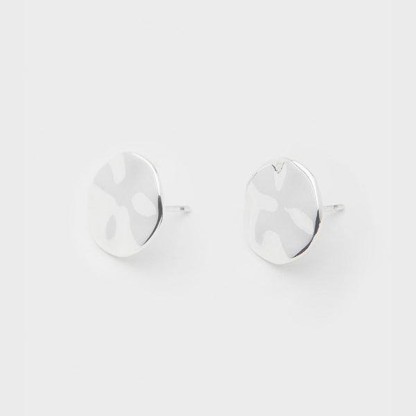 Chloe Small Studs, Silver