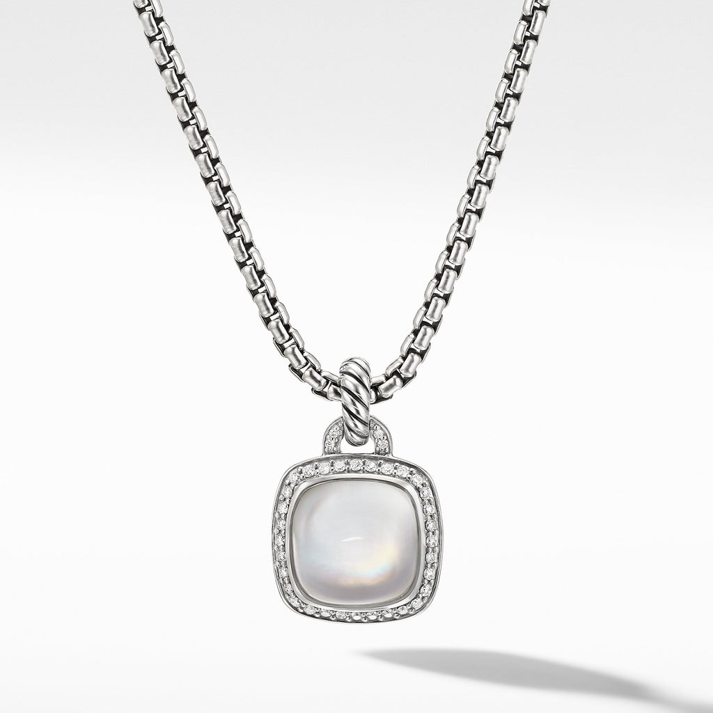 The Albion® Collection Pendant with Rock Crystal and Diamonds