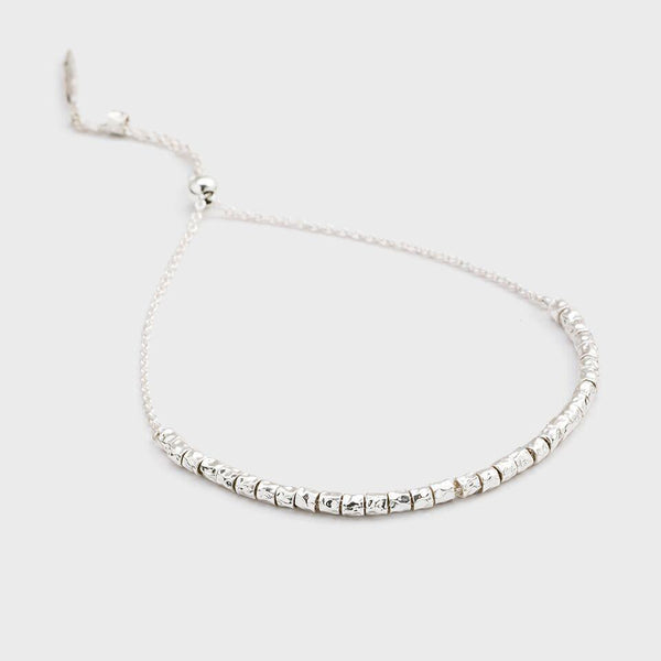 Laguna Adjustable Bracelet, Silver