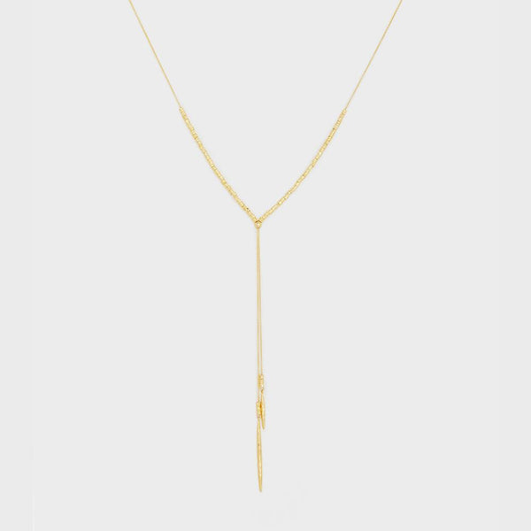 Laguna Adjustable Necklace, Gold