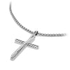 The Crossover Collection® Cross Necklace with Diamonds