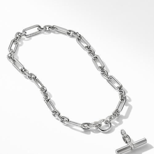 Lexington Chain Necklace with Diamonds