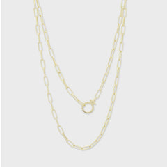 Parker Wrap Necklace, Gold