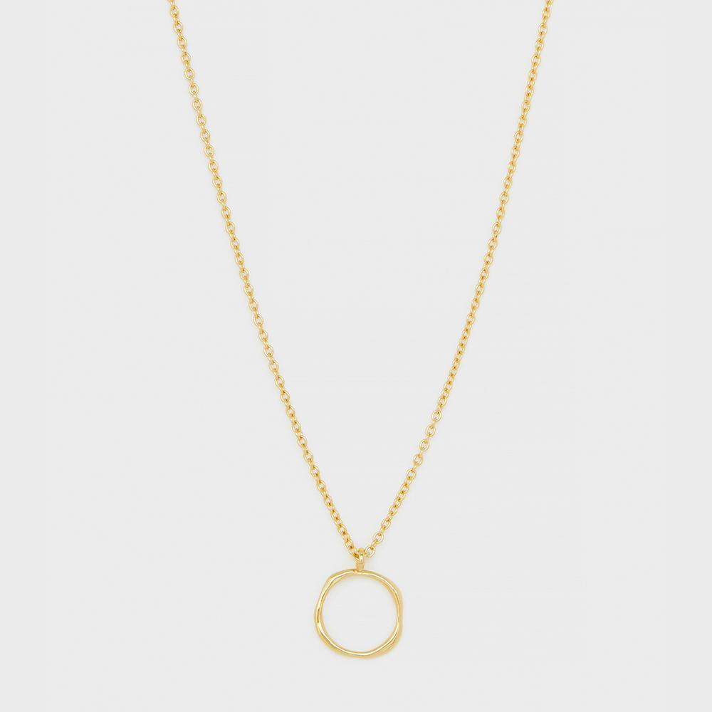 Quinn Delicate Adjustable Necklace, Gold