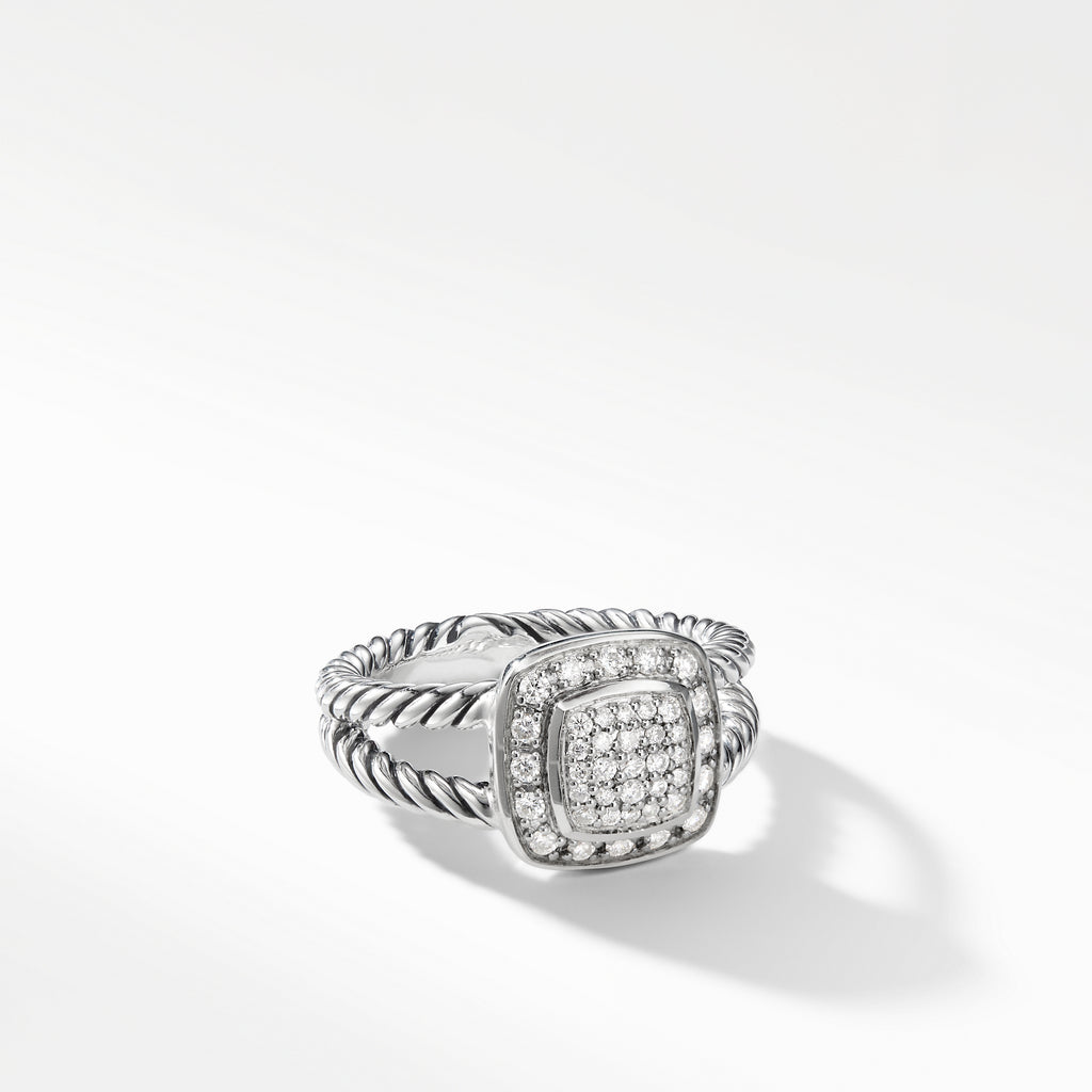 Petite Albion® Ring with Diamonds