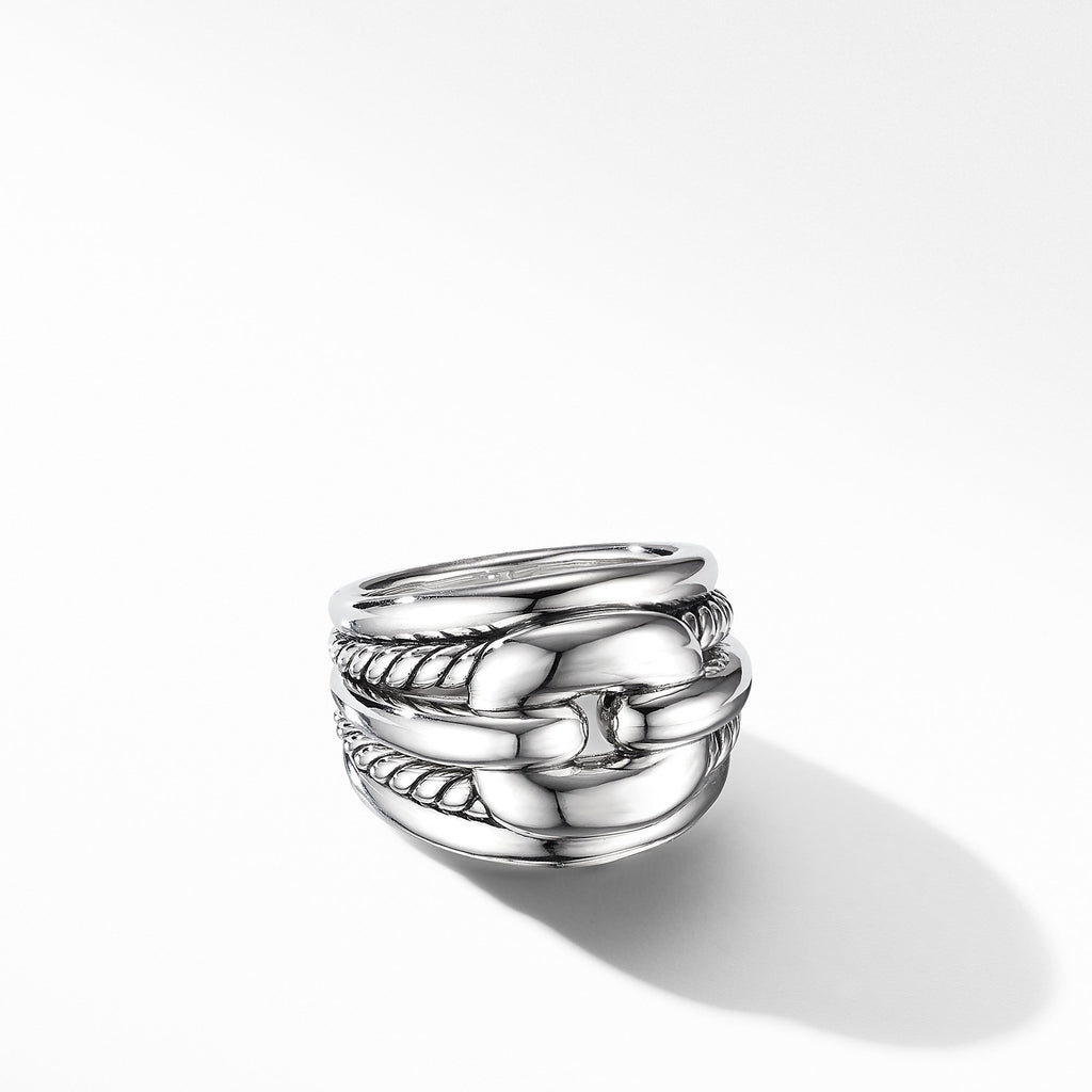 The Thoroughbred Collection Cushion Link Ring