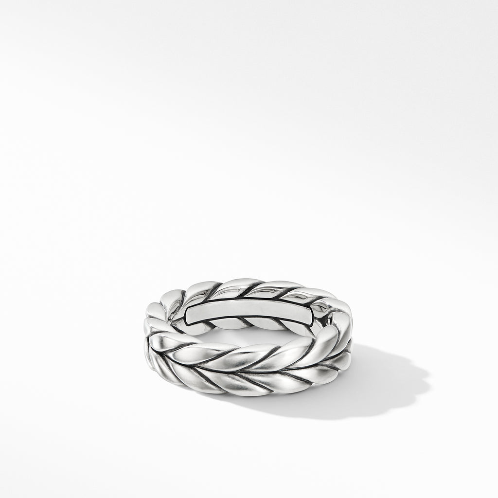 Chevron Woven Band Ring
