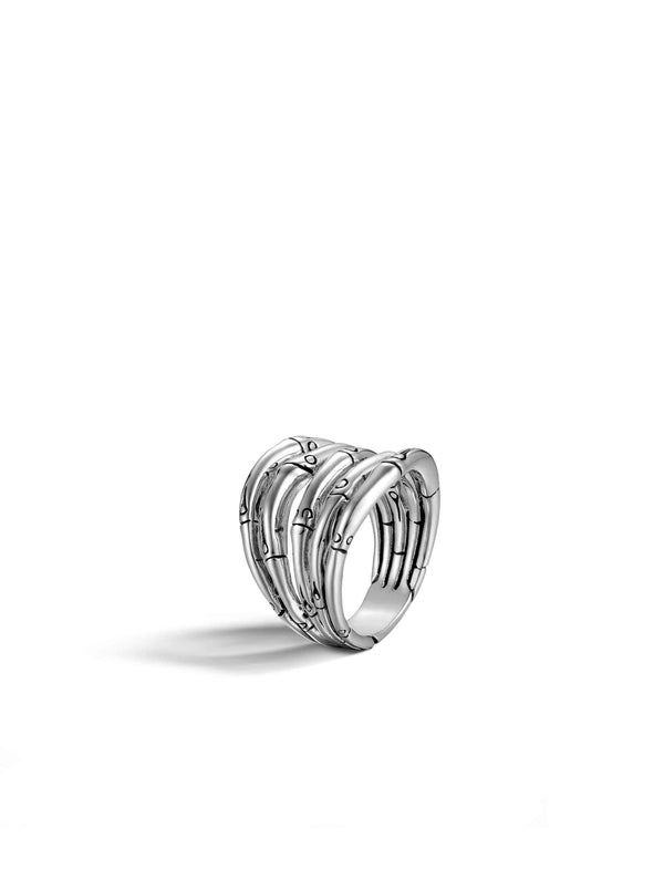 John Hardy Bamboo Multi Row Ring