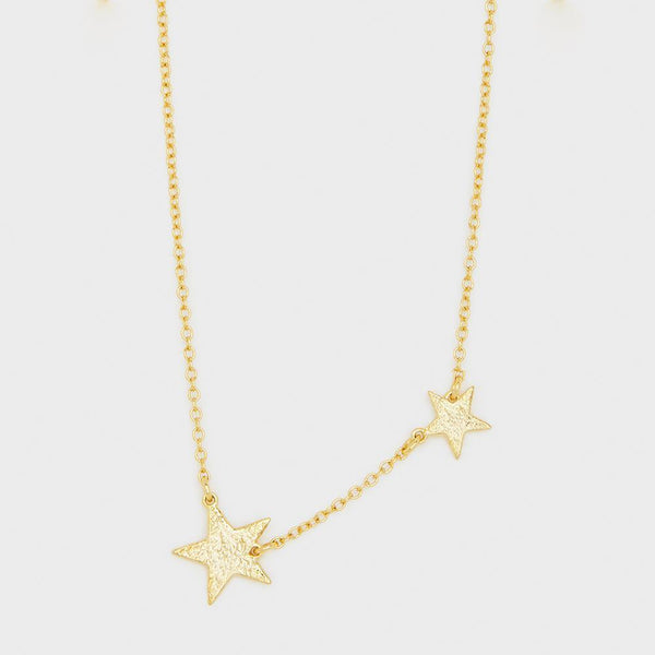 Super Star Necklace, Gold