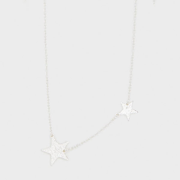 Super Star Necklace, Silver