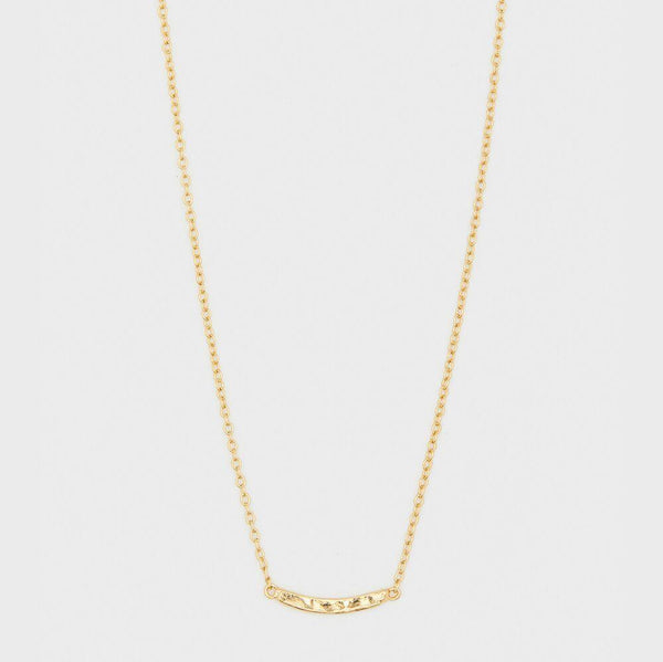 Taner Bar Mini Bar Necklace, Gold