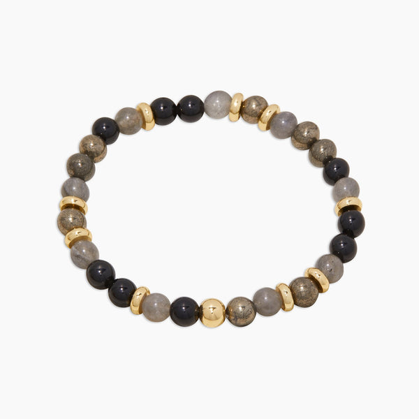Power Gemstone Mantra Bracelet for Virtue