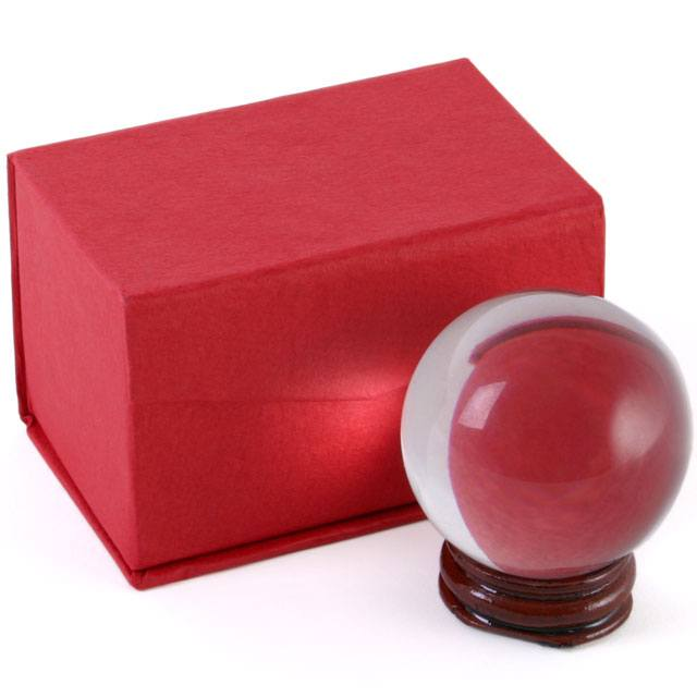 5CM Small Crystal Ball with Stand