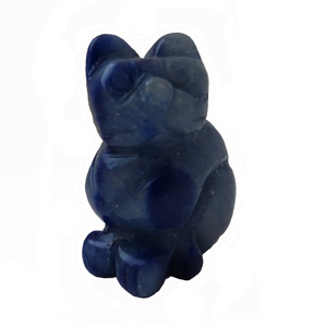Fluorspar Crystal Jade Cat