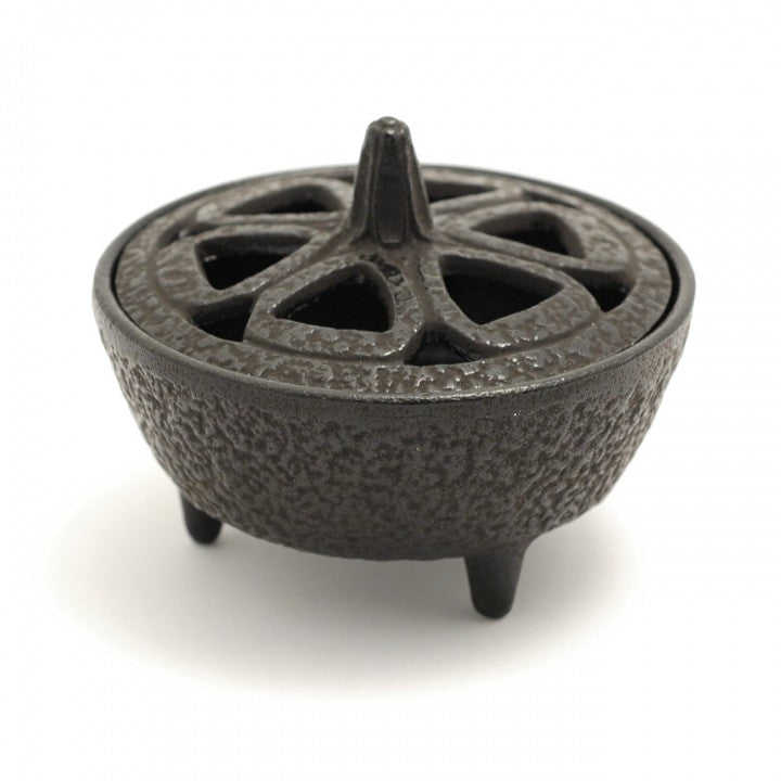 Cast Iron Incense Bowl