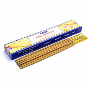 Stress Relief Incense Sticks (Satya)