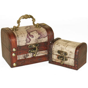 Mini Map Chests (Set of 2)