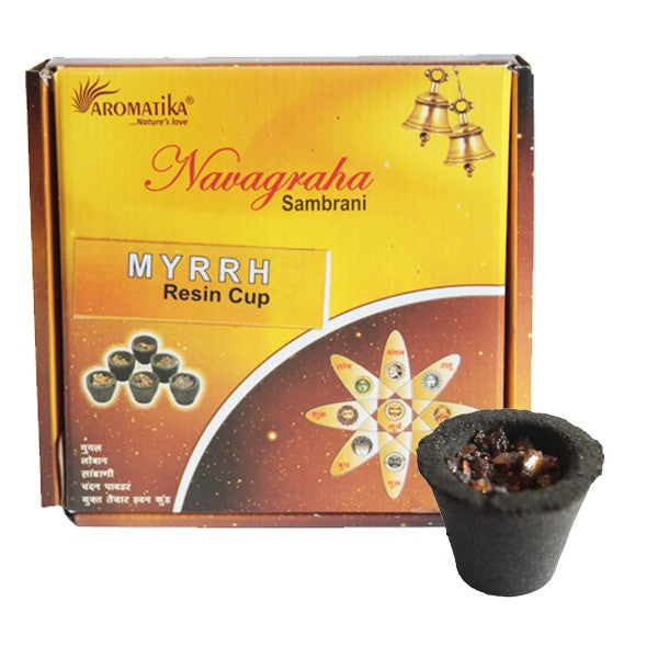 Myrrh Resin Cups (Box of 12)