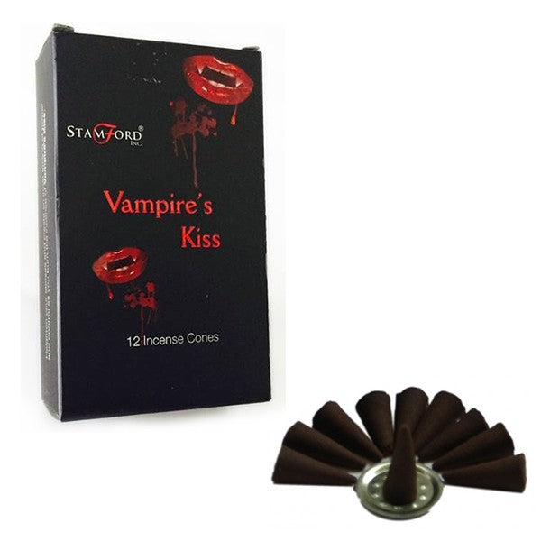 Vampire's Kiss Incense Cones (Stamford Black)