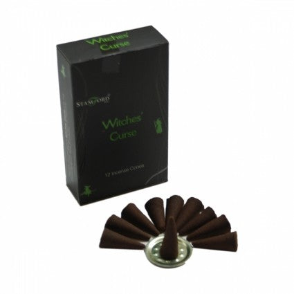 Witch's Curse Incense Cones (Stamfrod Black)