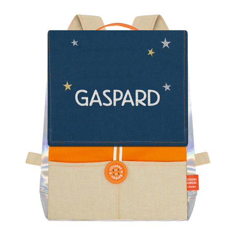 SAC ASTRO ORANGE & GAULOISE A BRODER