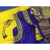 Blouse stitching for sarees;Standard blouse stitching light embroidered blouse stitching heavy embroidered blouse stitching Hand embroidery