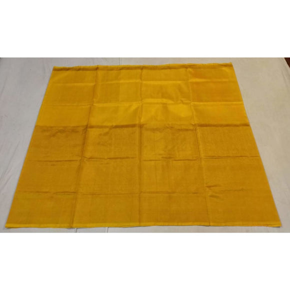 Uppada yellow half tissue half silk handwoven saree - Uppada half Silk half Tissue Saree