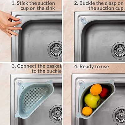 Suction Cup Sink Drain