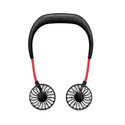 【Last Day Promotion 】Rechargeable Neckband Fan - Keep Cool Wherever You Are!