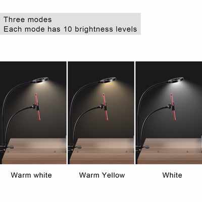 【Free Shipping】-Professional Portable LED Light with Cell Phone Holder™