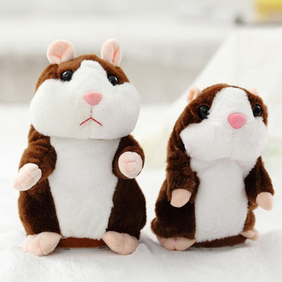 THE TALKING HAMSTER PLUSH TOY