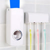 Automatic Toothpaste Dispenser + 5 Toothbrush Holder