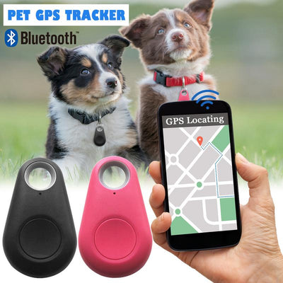 Esqlotres New Smart Bluetooth Tracer GPS Locator Tag Alarm Wallet Key Pet Dog Tracker GPS Dog Finders