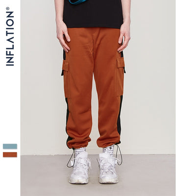INFLATION Male Loose Harem Pants Jogger