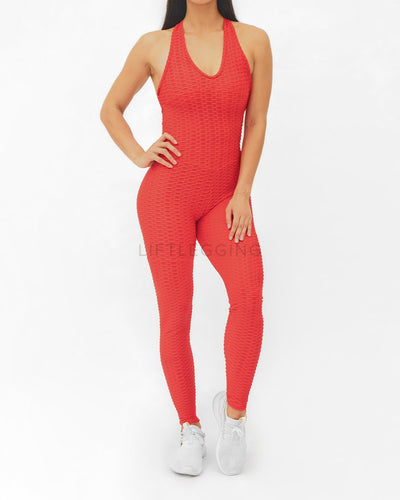 Anti-Cellulite x  Booty Lifting Jumpsuit