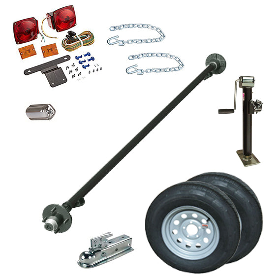 10SN - Snowmobile Tilt Deck Trailer Kit