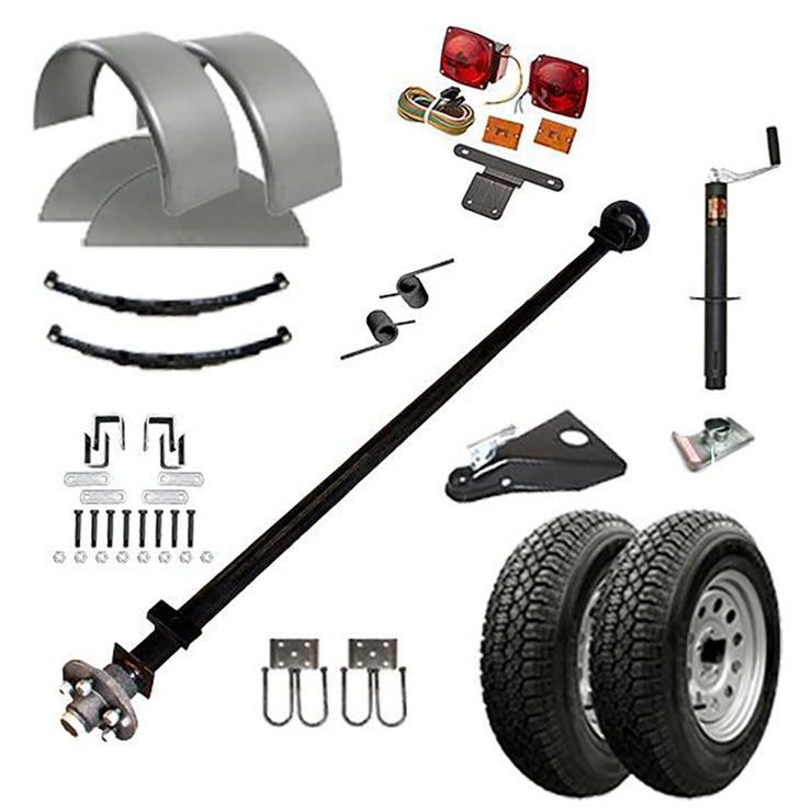 10CY - 10' x 6' Motorcycle/ Utility Trailer Kit