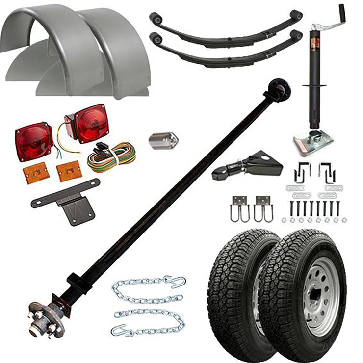1108 - 3.5 Single Axle TK Trailer kit