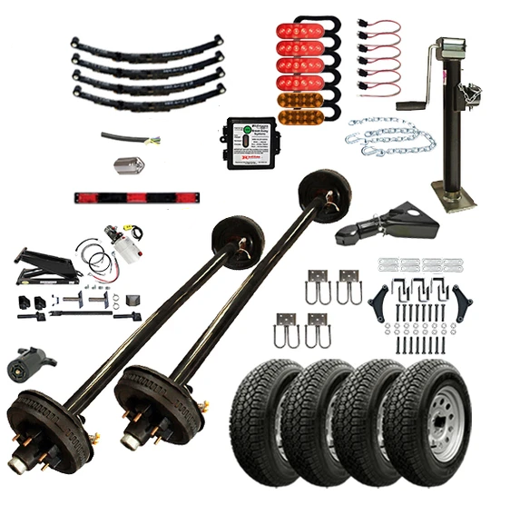 "TK Trailer Kit - 12HD - 6'4"" x 12' - 12K Dump TK Trailer Kit"